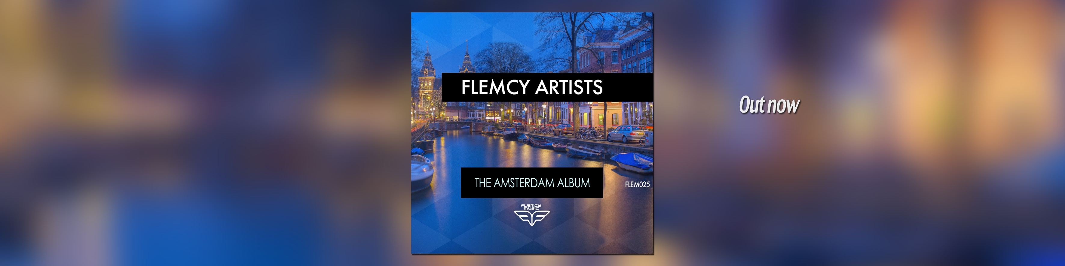 Flemcy slider banner Amsterdam album slider OUT NOW