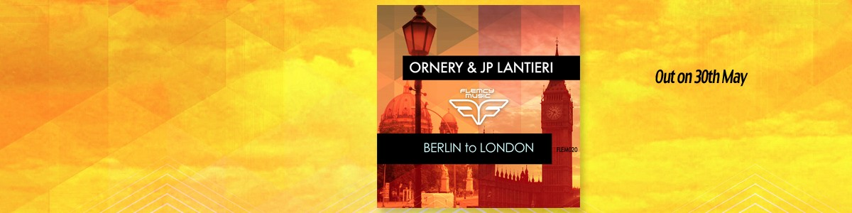 Flemcy slider banner Berlin To London out 30 May