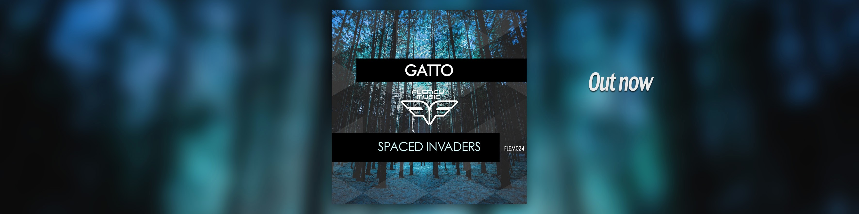 Flemcy slider banner Gatto – Spaced Invaders slider Out Now