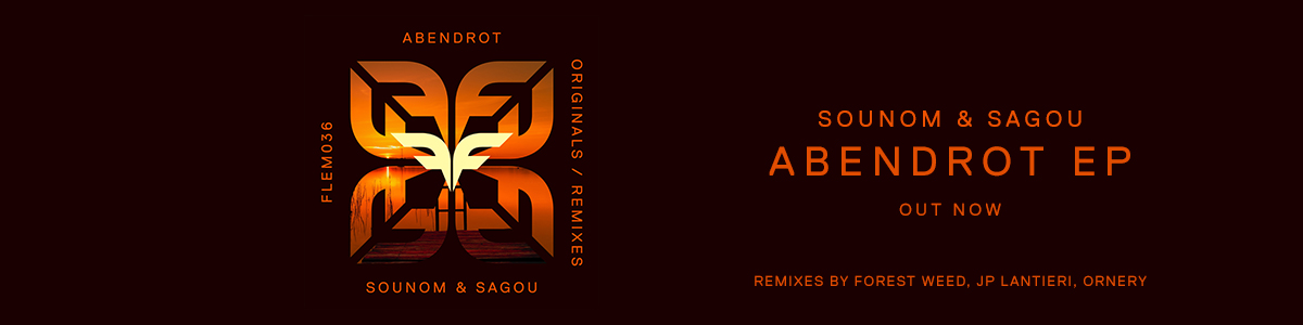 Slider_Website_Sounom & Sagou – Abendrot EP OUT NOW