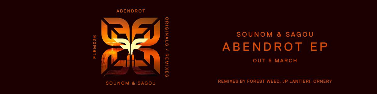 Slider_Website_Sounom & Sagou – Abendrot EP Out On
